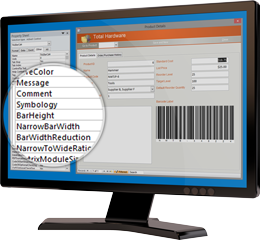 ActiveX Control for Integrating Barcode Capabilities into